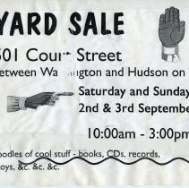 Image of Gate Sale 026. 09-2+3-1995 501 Court St.