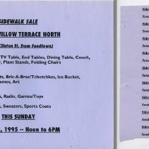 Image of Gate Sale 046. 04-23-1995 40 Willow Terrace North (with Tear Offs 047)