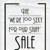 Image of Gate Sale 001. 10-15-1995 Washington & Third Sts.