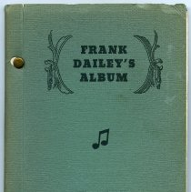 Image of Frank Dailey 001 Album Cover