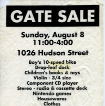 Image of Gate Sale 017