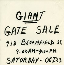 Image of Gate Sale 001