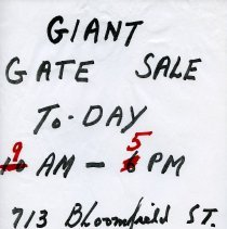Image of Gate Sale 020