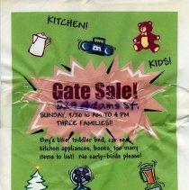 Image of Gate Sale 028