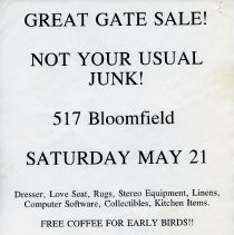 Image of Gate Sale 031