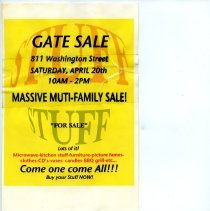 Image of Gate Sale 029