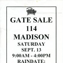 Image of Gate Sale 016