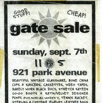 Image of Gate Sale 021