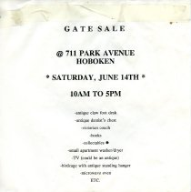 Image of Gate Sale 035