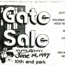 Image of Gate Sale 043