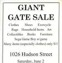 Image of Gate Sale 051