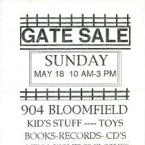 Image of Gate Sale 053