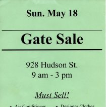 Image of Gate Sale 054