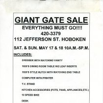 Image of Gate Sale 055
