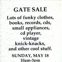 Image of Gate Sale 057