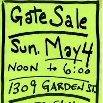 Image of Gate Sale 059