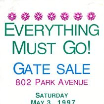 Image of Gate Sale 060