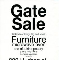 Image of Gate Sale 062