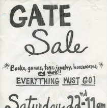 Image of Gate Sale 011