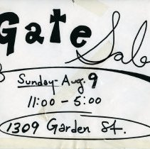 Image of Gate Sale 013
