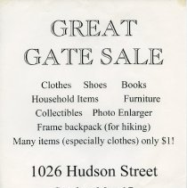 Image of Gate Sale 018