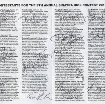Image of pp [2-3] Contestants (with some signed at event)