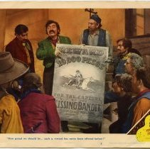 Image of The Kissing Bandit Lobby Card 2