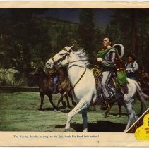 Image of The Kissing Bandit Lobby Card 3