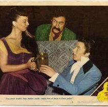 Image of The Kissing Bandit Lobby Card 4