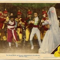Image of The Kissing Bandit Lobby Card 5