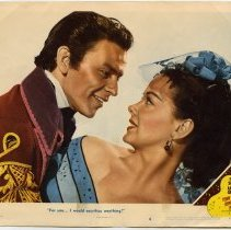 Image of The Kissing Bandit Lobby Card 6