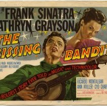 Image of The Kissing Bandit Lobby Card 1