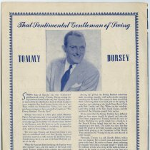 Image of pg [6] Tommy Dorsey photo and biography