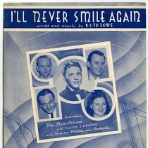 Image result for tommy dorsey and his orchestra 1940 I'll never smile again