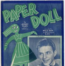Image of front cover: Paper Doll sheet music