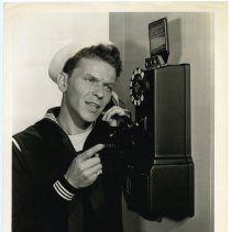 "Image of Sinatra photo: Frank Sinatra, film still publicity photo from ""Anchors Aweigh."" Los Angeles, CA, 1945. - Print, Photographic"