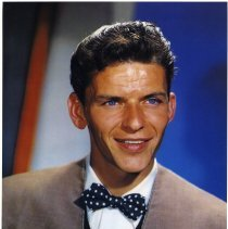 Image of Color reproduction photo of Frank Sinatra for publicity use, probably by CBS, circa 1945. - Print, Photographic