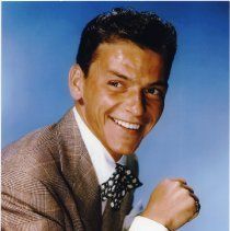 Image of Color reproduction photo of Frank Sinatra for publicity use, circa 1945-1946. - Print, Photographic