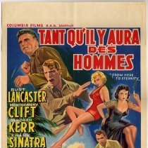 Image of Tant qu'il y Aura des Hommes; Belgium - From Here to Eternity French title.