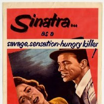 Image of Sinatra film poster: Suddenly. United Artists, 1954. - Poster