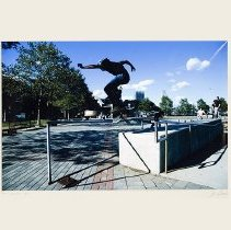 "Image of Color photo: ""Skate Boarder"" by John F. Conn. Hoboken, no date [2007]. - Print, Photographic"