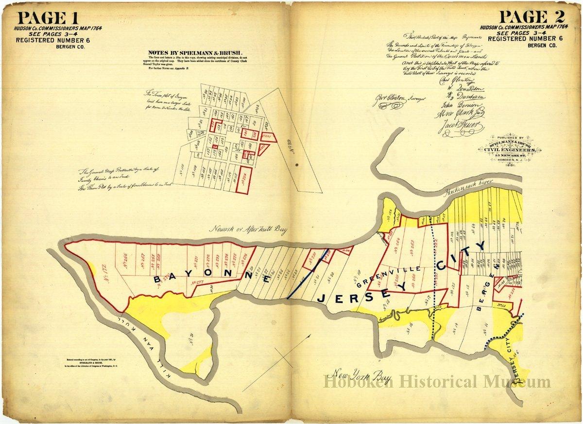 Hoboken Map