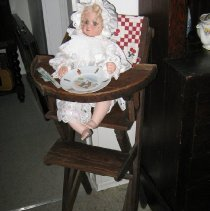 Image of 2003.18.1 - Highchair