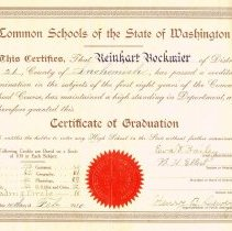 Image of 2004.60.87 - Documents, Certificate of Graduation