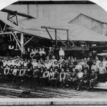 Image of Unidentified Mill Crew