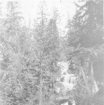 Image of Falls from Goat Lake