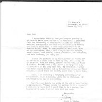 Image of 2005.16 - Letter