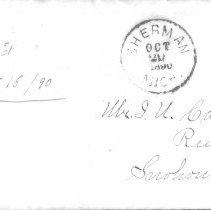 Image of 2005.195.4 - Letter Envelope
