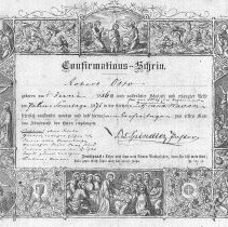 Image of 2005.238.6 - Certificate