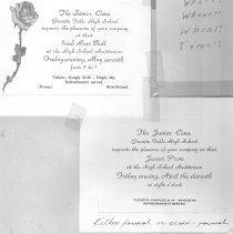 Image of 2005.34.23 - Invitations